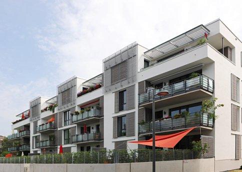 Neubau Windausweg Baufeld 5 6 Mehrfamilienhäuser mit Tiefgarage 37073 Göttingen Bauzeit 6/2010 bis 5/2012